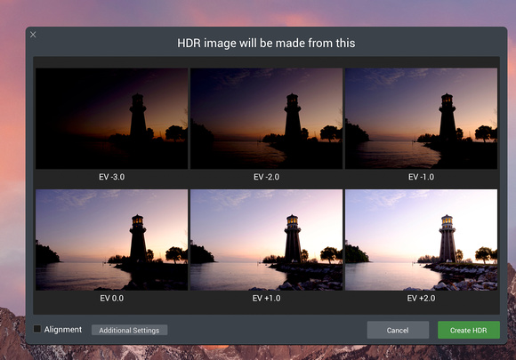Gideon Abate: Not Featured &emdash; Aurora HDR - Load Bracketed Images of Lighthouse in Langkawi, Malaysia